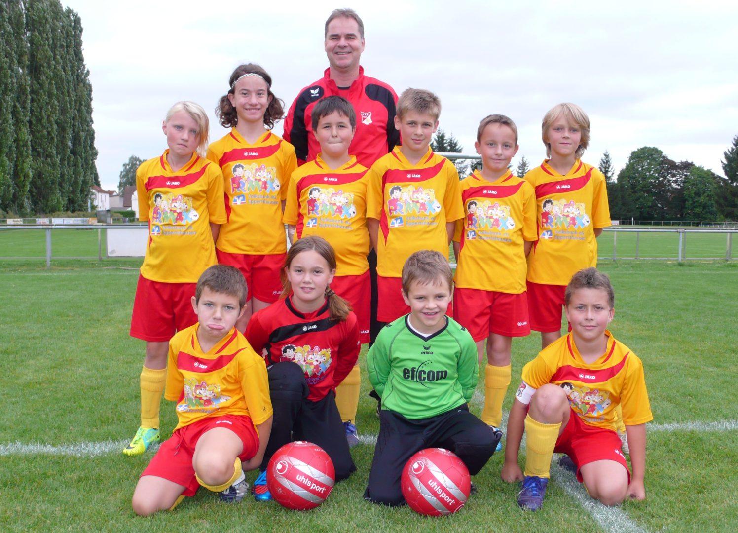 E2-Jugend - Saison 2012/2013